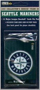 MLB 1997 Upper Deck Collectors Choice - Seattle Mariners - Team