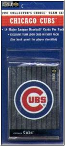 MLB 1997 Upper Deck Collectors Choice - Chicago Cubs - Team Set