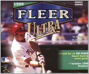 MLB 1999 Fleer Ultra Retail