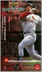 MLB 1999 Upper Deck MVP