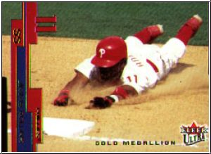 MLB 2003 Ultra Gold Medallion - No 63 - Jimmy Rollins