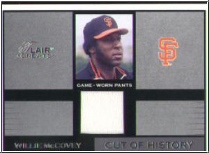 MLB 2003 Flair Greats  - No 14 - Willie McCovey