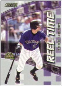 MLB 2002 Stadium Club Reel Time - No RT11 - Helton