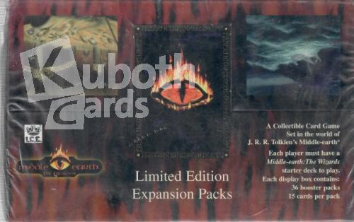 Middle Earth 1995 - The Dragons Expansion Packs Limited Editon