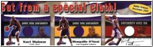 NBA 2000 / 01 Fleer Game Time Hobby