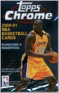 NBA 2000 / 01 Topps Chrome