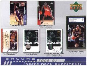 NBA 2000 / 01 Upper Deck Encore