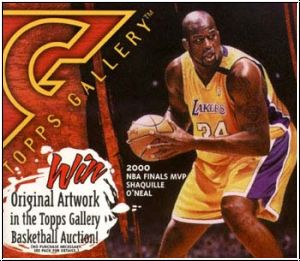 NBA 2000 / 01 Topps Gallery