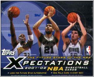 NBA 2001 / 02 Topps Xpectations Hobby