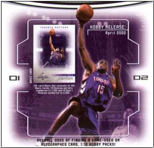 NBA 2001 / 02 Fleer Marquee