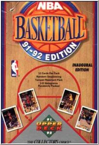 NBA 1991-92 Upper Deck Inaugural Edition