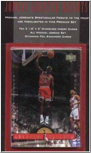 NBA 1996 / 97 Upper Deck Jordan Greater Hights Jumbos