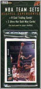 NBA 1997 / 98 Collectors Choice Team Set Seattle Supersonics