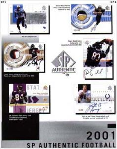 NFL 2001 Upper Deck SP Authentic