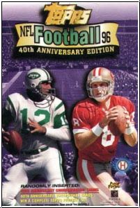 NFL 1996 Topps 40th Anniversary Edition