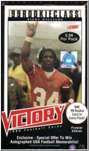 NFL 1999 Upper Deck Victory
