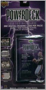 NFL 1999 Upper Deck Power Deck