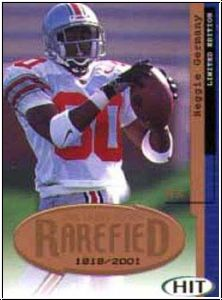 NFL 2001 SAGE Hit Rarefield Bronze - No R17 - Reggie Germany