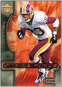 NFL 2000 Upper Deck Strike Force - No SF10 - Albert Connell