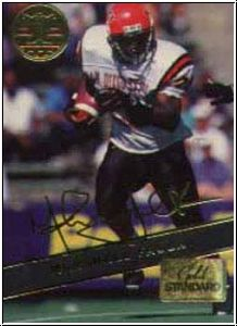 NFL 1994 Signature Rookies - No GS1 - Marshall Faulk