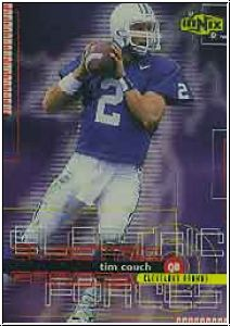 NFL 1999 UD Ionix Electric Forces - No EF2 - Tim Couch