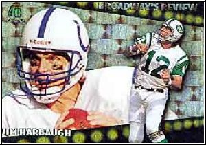 NFL 1996 Topps Broadway´s Review - No BR8 - Jim Harbaugh