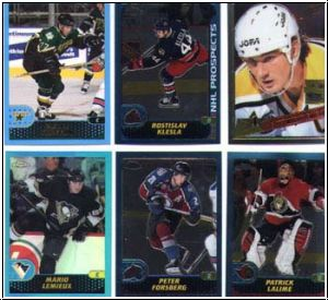 NHL 2001-02 Topps Chrome