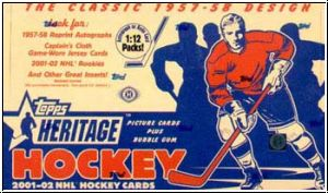 NHL 2001-02 Topps Heritage