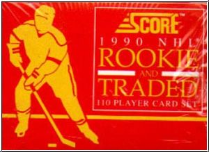 NHL 1990 / 91 Score Rookie & Traded