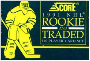 NHL 1991 / 92 Score Rookie & Traded