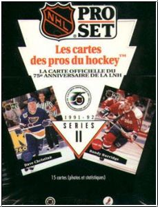 NHL 1991 / 92 ProSet Serie 2 bilingual Edition