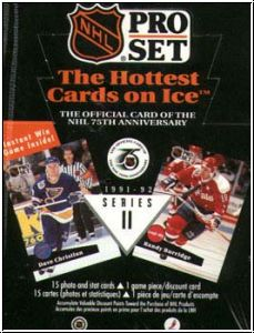 NHL 1991 / 92 ProSet Serie 2 USA Edition