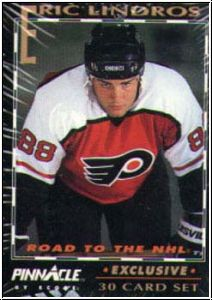 NHL 1992 / 93 Pinnacle Eric Lindros Road to the NHL