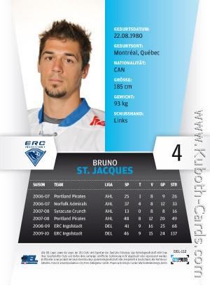 112 Bruno st Jacques ERC Ingolstadt del 2010-11