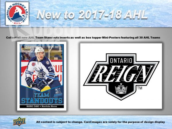 NHL 2017-18 Upper Deck AHL