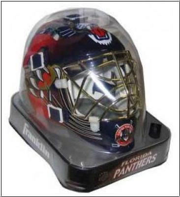 NHL Franklin Mini Goalie Maske - Florida Panthers