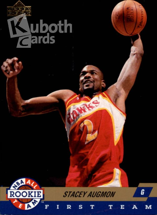 NBA 1992-93 Upper Deck All-Rookies - No AR5 - Stacey Augmon