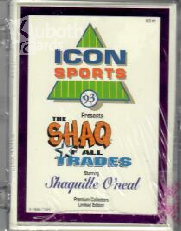 NBA 1992-93 Icon Sports Shaq of all Trades Factory Set mit Silber Umrandung