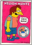 Simpsons 1993 SkyBox - No S 15 - Nelson Muntz