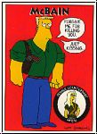 Simpsons 1993 SkyBox - No S 39 - McBain