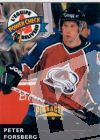 NHL 1996-97 Duracell L'Equipe de Beliveau - No JB8 of JB22 - Peter Forsberg