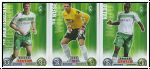 Fussball 2009 Topps Match Attax - Bremen I komplettes Set