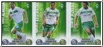 Fussball 2009 Topps Match Attax - Bremen II komplettes Set