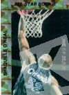 NBA 1993 Shaquille O'Neal Rookie of the Year - No 3 of 6