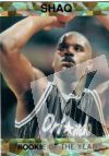 NBA 1993 Shaquille O'Neal Rookie of the Year - No 6 of 6