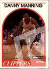 NBA 1989-90 Hoops - No 40 - Danny Manning