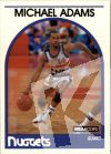 NBA 1989-90 Hoops - No 52 - Michael Adams