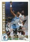 NBA 1992-93 Hoops - No 361 - Alonzo Mourning