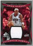 NBA 2004 / 05 SP Game Used Authentic Fabrics - No AF-DG