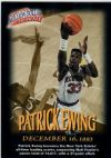 NBA 1997 / 98 Fleer Million Dollar Moments - No 7 of 50 - Patrick Ewing